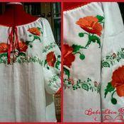 Blouses handmade. Livemaster - original item Embroidered shirt for women ZhR3-006. Handmade.