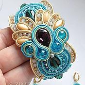 Украшения handmade. Livemaster - original item Kit soutache jewelry Dolcini. Handmade.