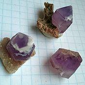 Материалы для творчества handmade. Livemaster - original item Brush fine-crystalline quartz with crystals of amethyst( Kazakhstan). Handmade.