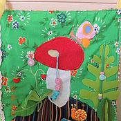 Для дома и интерьера ручной работы. Ярмарка Мастеров - ручная работа развивающий коврик на кроватку. Handmade.