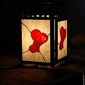 """Для дома и интерьера ручной работы. Ярмарка Мастеров - ручная работа """"Любовь"""" фонарь - светильник. Handmade."""