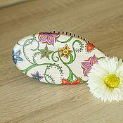 Сувениры и подарки ручной работы. Ярмарка Мастеров - ручная работа Расческа для волос в стиле декупаж. Handmade.