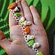 Браслеты ручной работы. Заказать браслет муми-тролли. Daria (REDHEADjewelry). Ярмарка Мастеров. Необычное украшение, муми-тролли