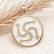 Фен-шуй и эзотерика handmade. Livemaster - original item The symbol of the Kind of Slavic charms charms enamel. Handmade.