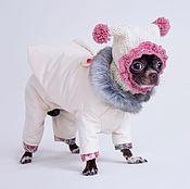 Для домашних животных, ручной работы. Ярмарка Мастеров - ручная работа Комплект утепленный куртка+брюки. Handmade.