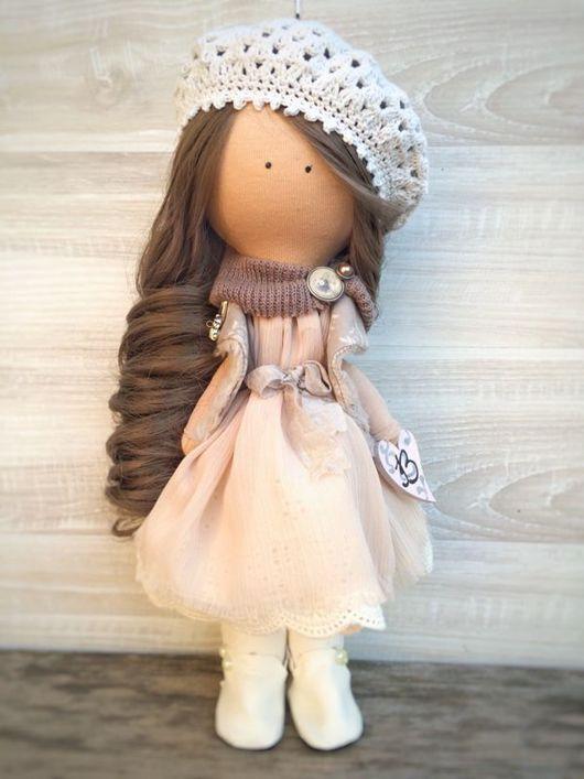 Коллекционные куклы ручной работы. Ярмарка Мастеров - ручная работа. Купить Вероника. Handmade. Тильда, в подарок, подарок на любой случай