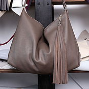 handmade. Livemaster - original item Crossbody Bag Genuine leather handmade coffee with milk bag. Handmade.