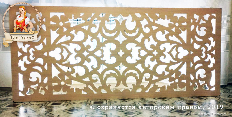 Wooden decorative panel for radiator, Decorative panels, Dimitrovgrad,  Фото №1