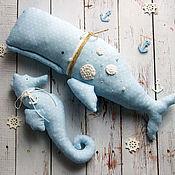 Куклы и игрушки ручной работы. Ярмарка Мастеров - ручная работа Морской набор Тильда. Handmade.