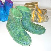 Обувь ручной работы handmade. Livemaster - original item socks felted fleece dog coat dog Pooh
