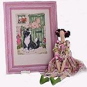 Куклы и игрушки ручной работы. Ярмарка Мастеров - ручная работа Текстильная кукла в стиле Tilda. Handmade.