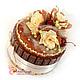 Кулинарные сувениры ручной работы. Заказать Торт из конфет, шоколада и печенья корпоративные подарки. Ника Окунева 'ZEFIRKI'. Ярмарка Мастеров.