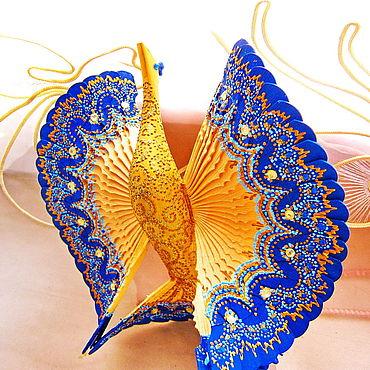Свадебный салон ручной работы. Ярмарка Мастеров - ручная работа Синяя Птица счастья для молодой семьи, домашний оберег. Handmade.