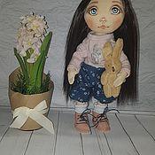 Портретная кукла ручной работы. Ярмарка Мастеров - ручная работа Текстильная кукла. Handmade.