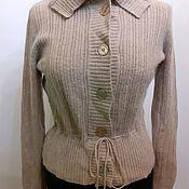 Винтажная одежда ручной работы. Ярмарка Мастеров - ручная работа Ангоровая кофта женская размер 46. Handmade.