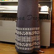 Одежда ручной работы. Ярмарка Мастеров - ручная работа ЛИРА юбочка шерсть 100%. Handmade.