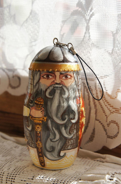 Hero - keychain. Christmas toy, Dolls1, Tyumen,  Фото №1