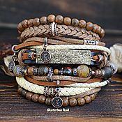 Украшения handmade. Livemaster - original item BOHO style bracelet with