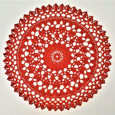 Для дома и интерьера handmade. Livemaster - original item Napkins: 31 / HEART decorative napkin. Handmade.