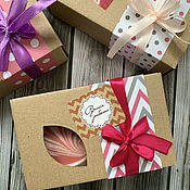 Сувениры и подарки handmade. Livemaster - original item Boxes for soap gift. Handmade.