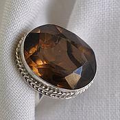 Украшения handmade. Livemaster - original item Ring with Topaz Luster. Handmade.