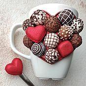 Кружки ручной работы. Ярмарка Мастеров - ручная работа Набор Коробка конфет. Handmade.
