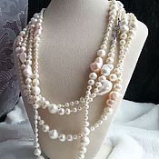 Украшения handmade. Livemaster - original item 250 see Beads of