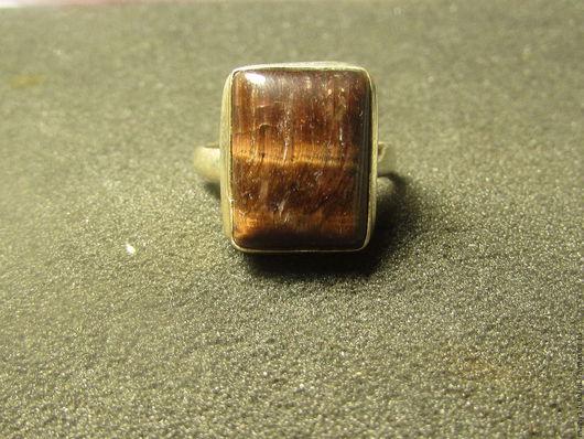 Кольца ручной работы. Ярмарка Мастеров - ручная работа. Купить кольцо с тигровым. Handmade. Кольцо, кольцо с тигровым глазом
