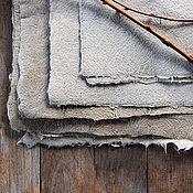 Материалы для творчества ручной работы. Ярмарка Мастеров - ручная работа Льняная бумага ручной работы. Handmade.