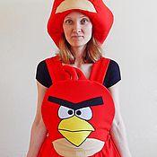 Одежда handmade. Livemaster - original item Angry Birds suit. Animator-actor  suit. Handmade.