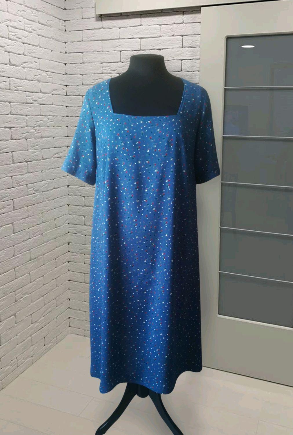 Платье  синее, Платья, Уфа,  Фото №1