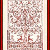 Материалы для творчества handmade. Livemaster - original item Amulet-A Kind Of Tree (The Tree Of Life). The scheme for embroidery cross. Handmade.
