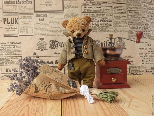 Мишки Тедди ручной работы. Ярмарка Мастеров - ручная работа. Купить мишка тедди Стас. Handmade. Коричневый, плюшевые мишки