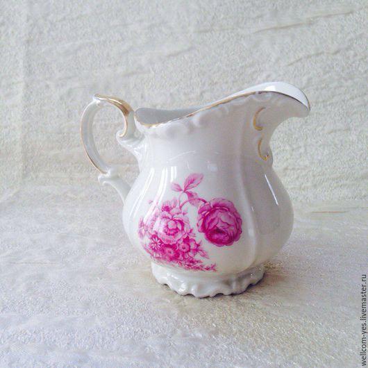 Винтажная посуда. Ярмарка Мастеров - ручная работа. Купить Молочник. Handmade. Комбинированный