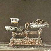 Картины и панно manualidades. Livemaster - hecho a mano El aroma del café. Handmade.