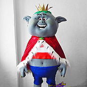 Дизайн и реклама handmade. Livemaster - original item Troll-Bergens Prince Gristle. Life-size puppet. Handmade.