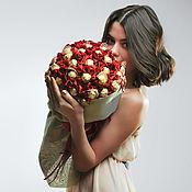 Цветы и флористика ручной работы. Ярмарка Мастеров - ручная работа Букет из конфет Королевский от Alexander Awe. Handmade.