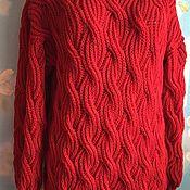 Одежда handmade. Livemaster - original item - 20 % of the cost of a Long sweater handmade tunic.. Handmade.