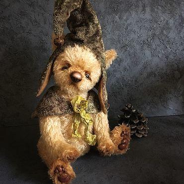 Куклы и игрушки ручной работы. Ярмарка Мастеров - ручная работа Мишка Робин (Гномик). Handmade.