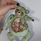 """Куклы и игрушки ручной работы. Ярмарка Мастеров - ручная работа Музыкальный  мишка """" Пташка моя"""". Handmade."""