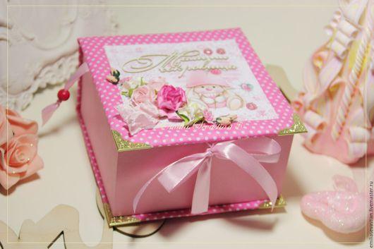 Мягких короб для хранения памятных вещиц, связанных с малышом