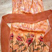 Одежда ручной работы. Ярмарка Мастеров - ручная работа Платье батик. Handmade.