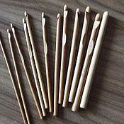 Для дома и интерьера ручной работы. Ярмарка Мастеров - ручная работа Крючки вязальные бамбуковые (набор) 1. Handmade.