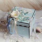 Упаковочная коробка ручной работы. Ярмарка Мастеров - ручная работа Коробочка Magic Box для денежного подарка. Handmade.