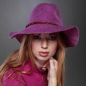 """Аксессуары ручной работы. Ярмарка Мастеров - ручная работа """"Парижанка"""" шляпа. Handmade."""