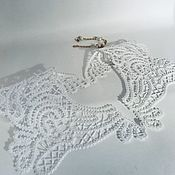 handmade. Livemaster - original item Lace detachable collar,