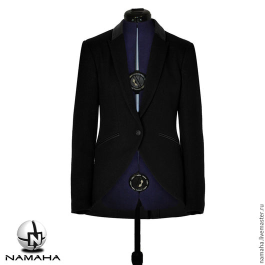 Пиджаки, жакеты ручной работы. Ярмарка Мастеров - ручная работа. Купить Пиджак женский с фалдами, жокейский стиль. Handmade.