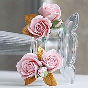 Свадебный салон handmade. Livemaster - original item Flowers in her hair.. Handmade.