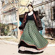 Одежда handmade. Livemaster - original item Skirt warm