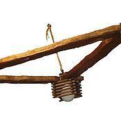 """Для дома и интерьера ручной работы. Ярмарка Мастеров - ручная работа люстра """"Бунгало"""". Handmade."""